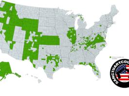 United States Second Amendment Sanctuaries 1-28-2020