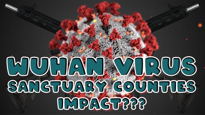 Wuhan Virus Sanctuary Counties Impact