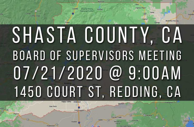 Shasta County Board of Supervisors Meeting