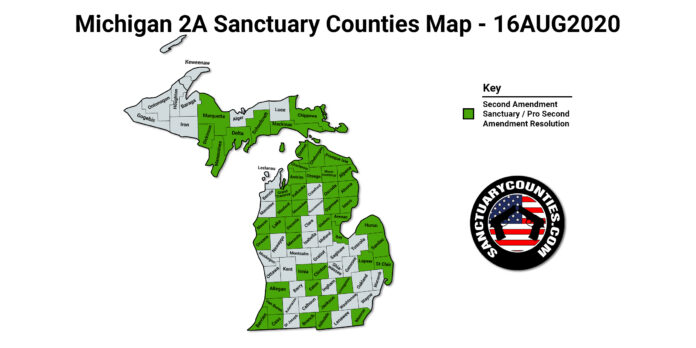 Michigan 2A Sanctuary Counties