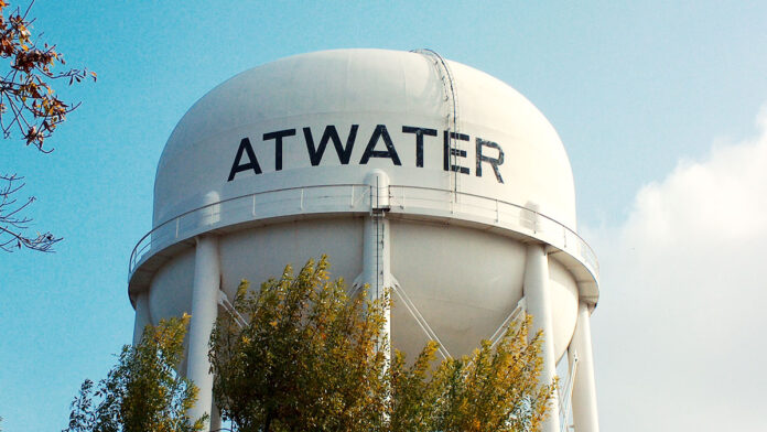 Picture of Atwater California water tower