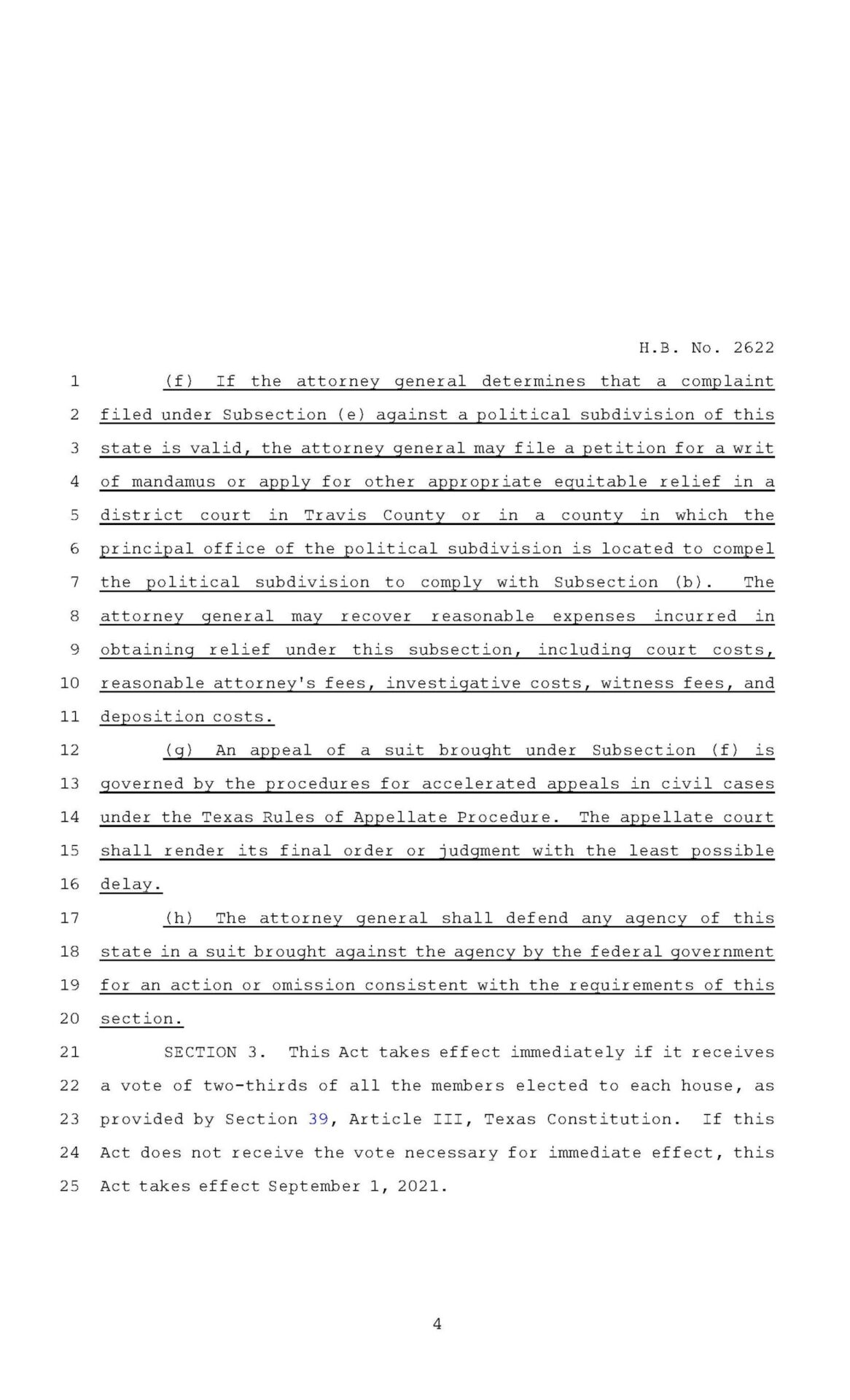 Texas Second Amendment Sanctuary State Act Page 4
